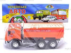 Инерционная машина КАМАЗ «Аварийная служба», 31702, отзывы