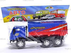 Инерционная машина КАМАЗ «Ралли», 31700, купить