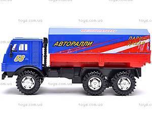 Инерционная машина КАМАЗ «Ралли», 31700, фото