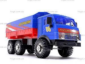 Инерционная машина КАМАЗ «Ралли», 31700, отзывы