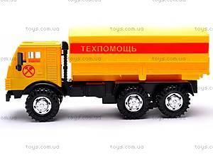 Инерционная машина КАМАЗ «Техпомощь», 31703, игрушки