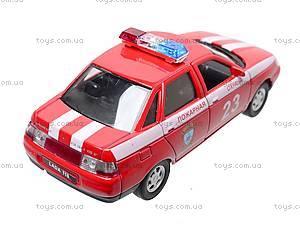 Инерционная машина Lada 110 «Пожарная охрана», 42385FS-W, купить