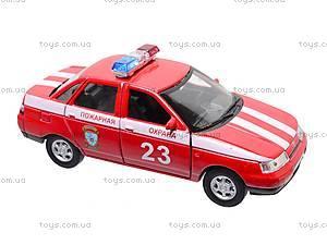 Инерционная машина Lada 110 «Пожарная охрана», 42385FS-W, фото