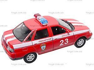 Инерционная машина Lada 110 «Пожарная охрана», 42385FS-W, отзывы
