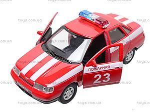 Инерционная машина Lada 110 «Пожарная охрана», 42385FS-W, цена