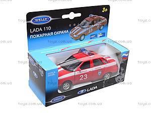Инерционная машина Lada 110 «Пожарная охрана», 42385FS-W