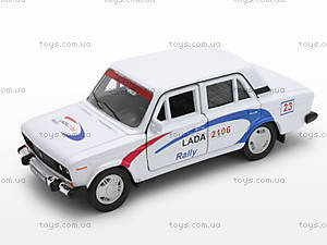 Инерционная машина Lada 2106 Rally, 42381RY-W, купить