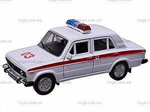 Инерционная машина Lada 2106 «Скорая помощь», 42381AE-W