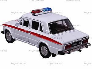 Инерционная машина Lada 2106 «Скорая помощь», 42381AE-W, купить