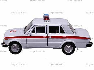 Инерционная машина Lada 2106 «Скорая помощь», 42381AE-W, фото