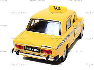 Инерционная машина Lada 2106 «Такси», 42381TI-W, купить