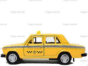 Инерционная машина Lada 2106 «Такси», 42381TI-W, фото