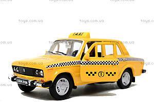 Инерционная машина Lada 2106 «Такси», 42381TI-W, отзывы
