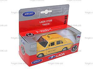 Инерционная машина Lada 2106 «Такси», 42381TI-W, цена