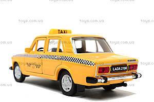 Инерционная машина Lada 2106 «Такси», 42381TI-W, игрушки
