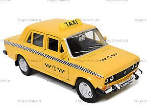 Инерционная машина Lada 2106 «Такси», 42381TI-W, детские игрушки