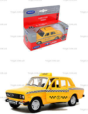 Инерционная машина Lada 2106 «Такси», 42381TI-W