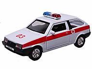 Инерционная машина Lada 2108 «Скорая помощь», 42377AE-W, магазин игрушек