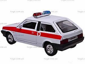 Инерционная машина Lada 2108 «Скорая помощь», 42377AE-W, фото