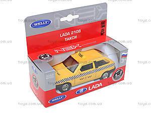Инерционная машина Lada 2108 «Такси», 42377TI-W, фото