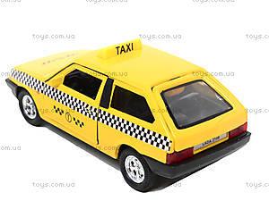 Инерционная машина Lada 2108 «Такси», 42377TI-W, игрушки