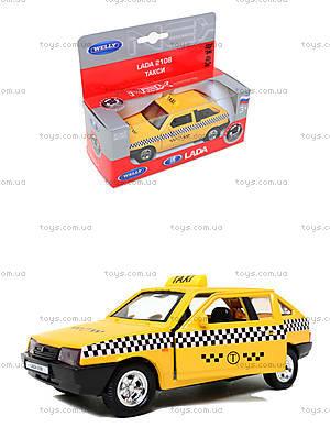 Инерционная машина Lada 2108 «Такси», 42377TI-W