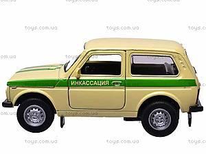 Инерционная машина Lada 4x4 «Инкассация» , 42386CN-W, цена