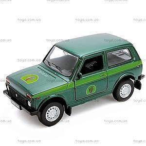 Инерционная машина Lada 4x4 «Лесоохрана», 42386FC-W, купить