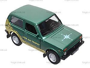 Инерционная машина Lada 4x4 Trophy, 42386TY-W, отзывы