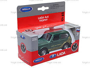 Инерционная машина Lada 4x4 Trophy, 42386TY-W, цена