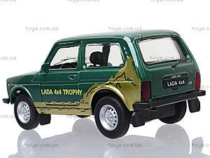 Инерционная машина Lada 4x4 Trophy, 42386TY-W, игрушки