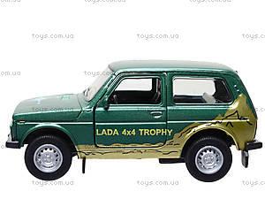 Инерционная машина Lada 4x4 Trophy, 42386TY-W, детские игрушки