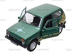 Инерционная машина Lada 4x4 Trophy, 42386TY-W, магазин игрушек