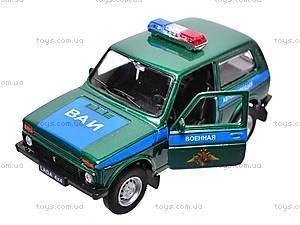 Инерционная машина Lada 4x4 «Военная», 42386MC-W, купить