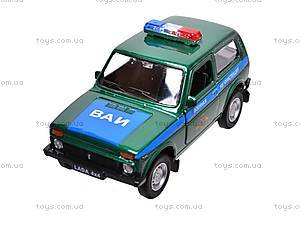 Инерционная машина Lada 4x4 «Военная», 42386MC-W, игрушки