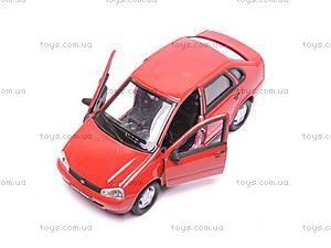 Инерционная машина Lada Kalina, 42383W, игрушки