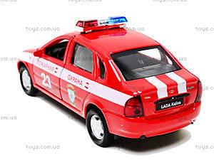 Инерционная машина Lada Kalina «Пожарная охрана», 42383FS-W, купить