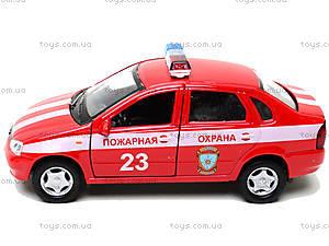 Инерционная машина Lada Kalina «Пожарная охрана», 42383FS-W, фото