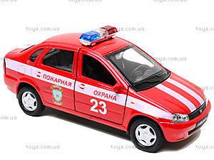Инерционная машина Lada Kalina «Пожарная охрана», 42383FS-W, отзывы