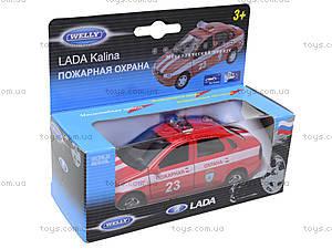 Инерционная машина Lada Kalina «Пожарная охрана», 42383FS-W
