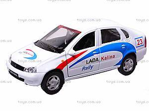 Инерционная машина Lada Kalina Rally, 42383RY-W