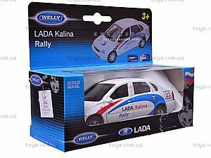 Инерционная машина Lada Kalina Rally, 42383RY-W, фото