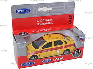 Инерционная машина Lada Kalina «Техпомощь», 42383TA-W, магазин игрушек