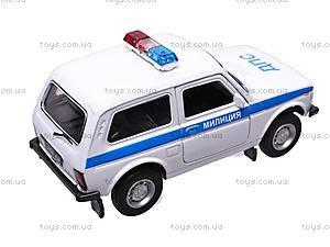 Инерционная машина Lada «Милиция», 42386PB-W, купить