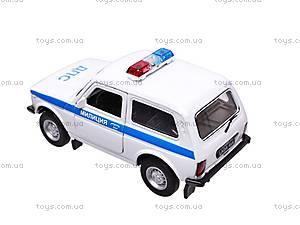 Инерционная машина Lada «Милиция», 42386PB-W, фото