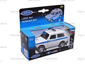 Инерционная машина Lada «Милиция», 42386PB-W, отзывы