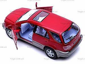 Инерционная машина Lexus RX300, KT5040W, игрушки