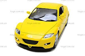 Инерционная машина Mazda RX-8, KT5071W, игрушки