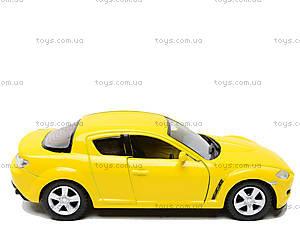 Инерционная машина Mazda RX-8, KT5071W, детские игрушки