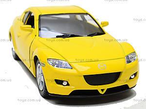 Инерционная машина Mazda RX-8, KT5071W, магазин игрушек